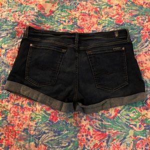 7FAMK Jean Shorts